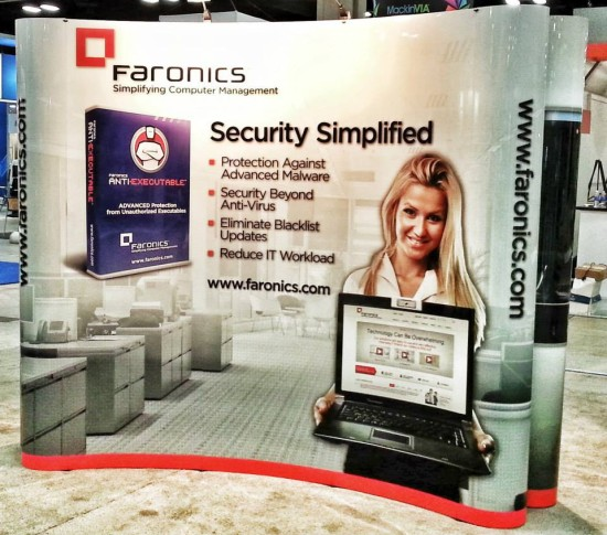 Faronics Security Simplified Booth