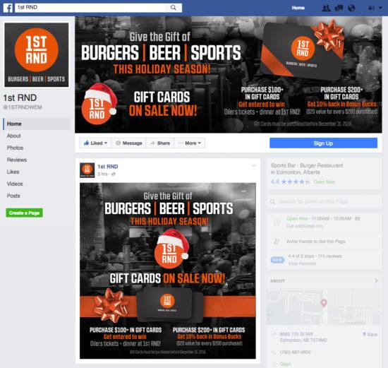 1st RND Gift Card Promo Facebook Graphics