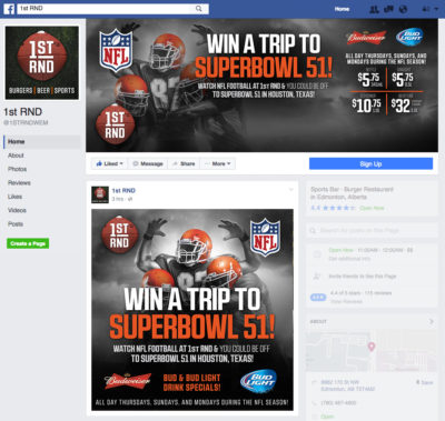 1st RND - NFL 2016 Promo Facebook Graphics