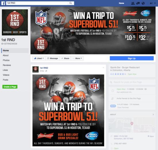 1st RND - NFL 2016 Promo Facebook Graphics