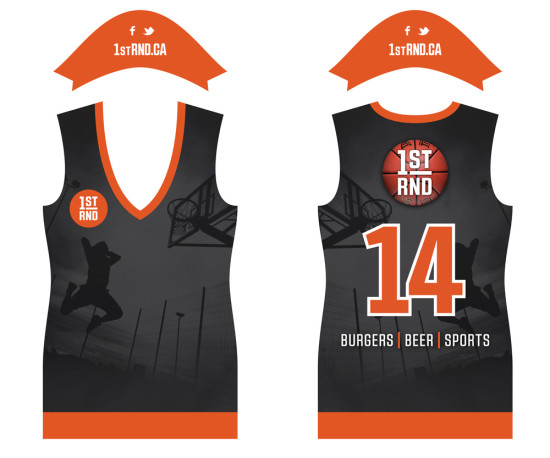 1st RND Staff Jerseys - Basketball