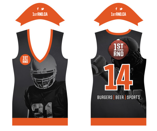 1st RND Staff Jerseys - Football