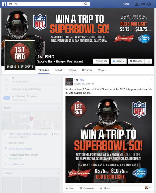 1st RND NFL Promo 2015 Facebook Graphics