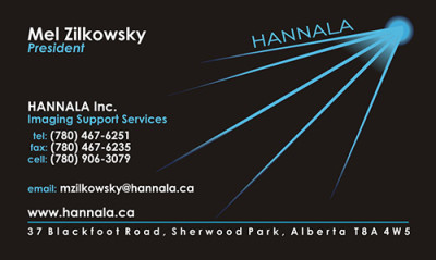 Hannala Business Card