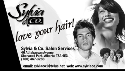 Sylvia & Co. Business Card