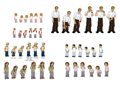 Various Animation Frames