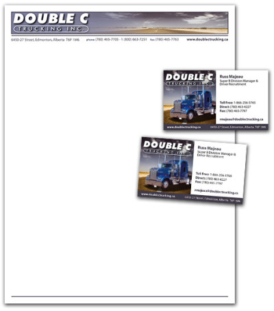Double C Trucking Stationary
