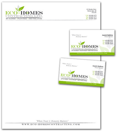Eco-Homes Contracting Stationary