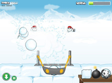 Snowbomber Screenshot - Game Play