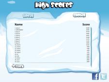 Snowbomber Screenshot - High Score Board