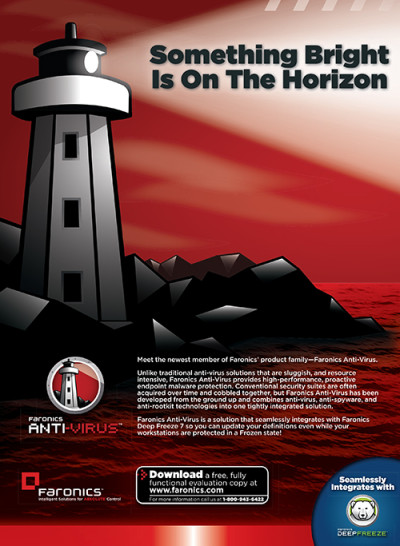 Anti-Virus Full Page Ad