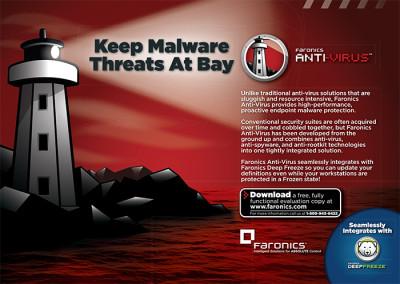 Anti-Virus Half Page Ad