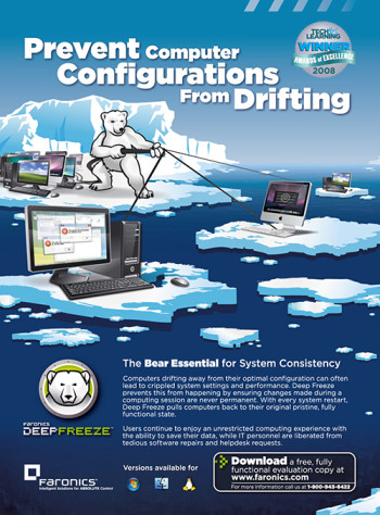Deep Freeze Configuration Drift Full Page Ad