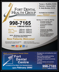 Fort Dental Health Group Yellow Page Ad