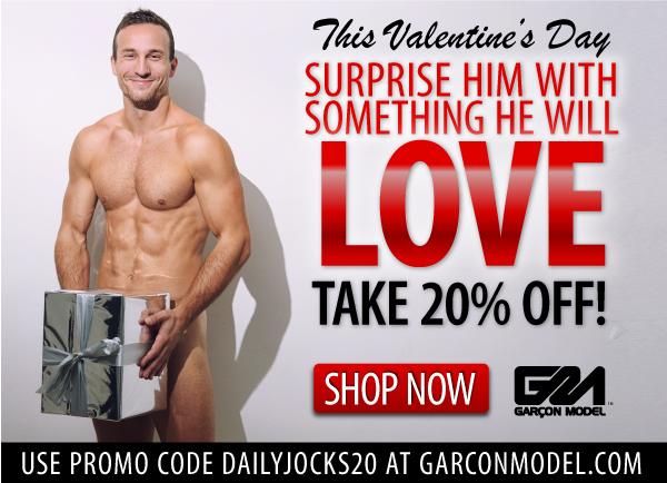 Garçon Model Valentine's Day Promo Ad