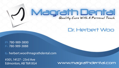 Magrath Dental Business Card - Front