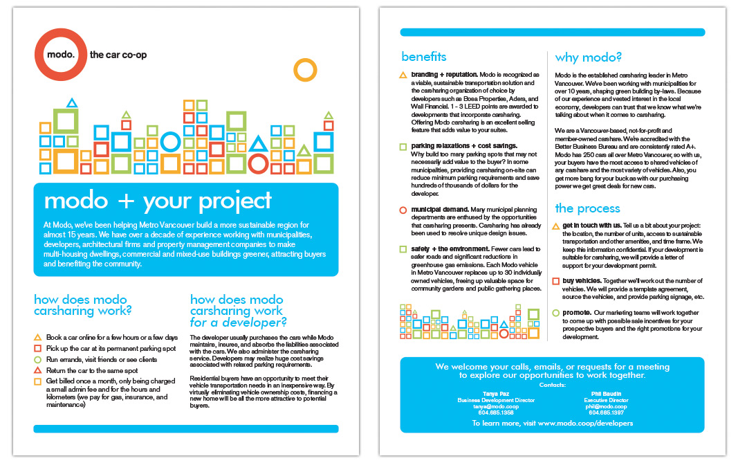 Modo + Your Project Brochure
