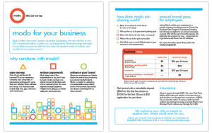 Modo For Business Brochure