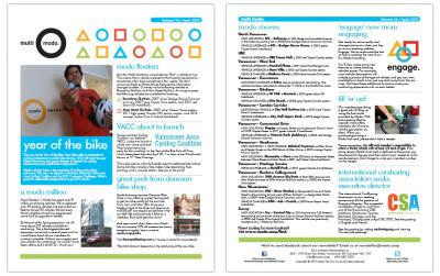 Multi-Modo Newsletter - April 2012