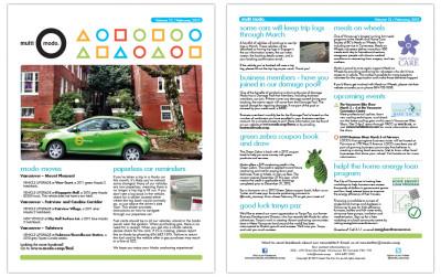 Multi-Modo Newsletter - February 2012