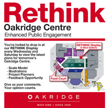 Oakridge Tent Card