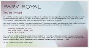 Park Royal Invite