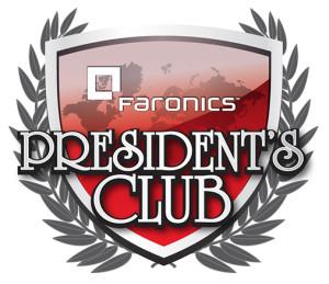 Faronics President's Club Logo