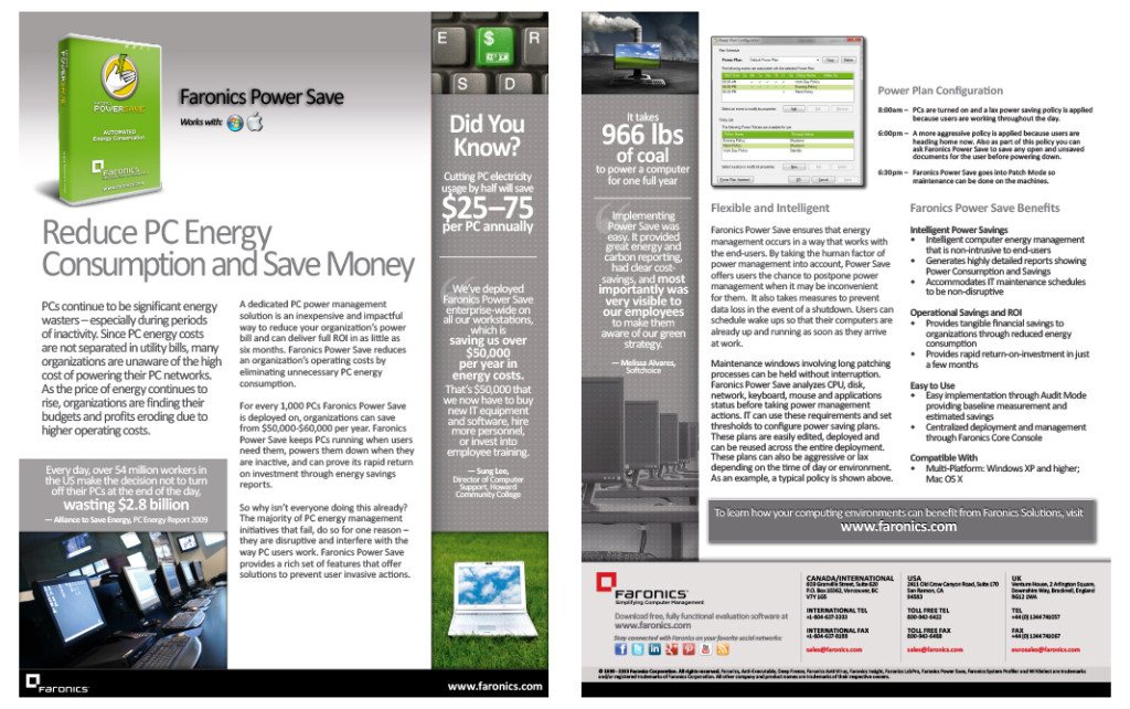 Product Brochure - Power Save