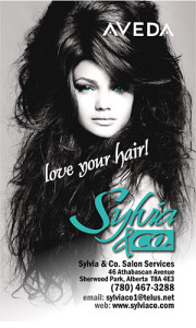 Sylvia & Co. Business Card