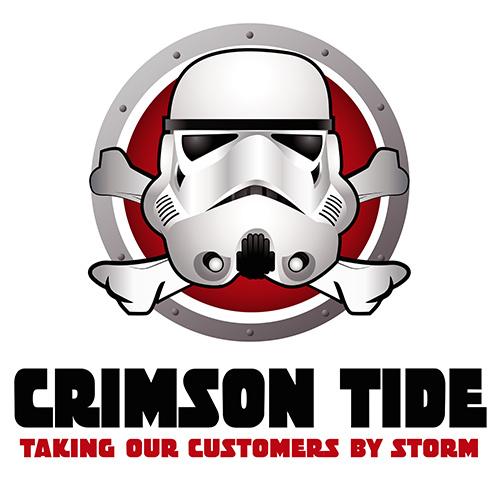 Sales Team Logo - Crimson Tide