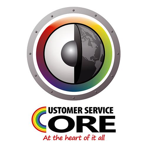 Customer Service Logo - CS Core