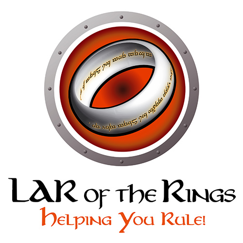 Sales Team Logo, Large Account Reseller - LAR of the Rings