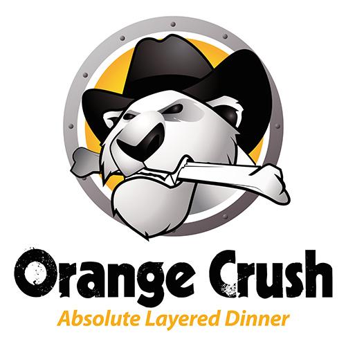 Sales Team Logo - Orange Crush