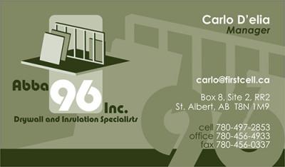 Abba 96 Business Card