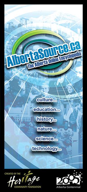 AlbertaSource Lure Card - Front