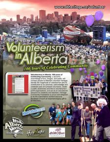 100 Years of Volunteerism in Alberta Ad