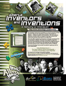 Alberta Inventors and Inventions Ad