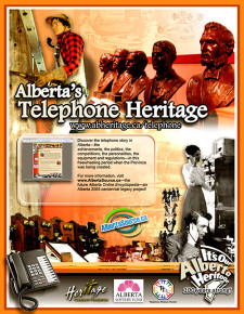Alberta's Telephone Heritage Ad