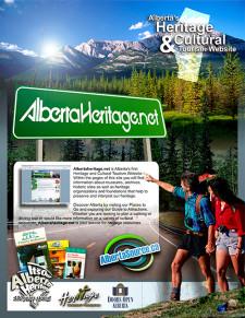 AlbertaHeritage.net Ad