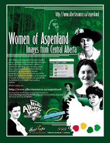 The Women of Aspenland Ad