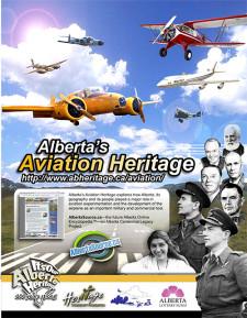 Alberta's Aviation History Ad