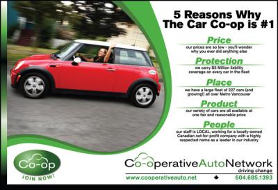 Co-operative Auto Network Ad - Live Green 2008