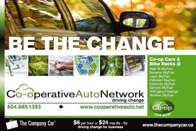 Co-operative Auto Network Skytrain Billboard