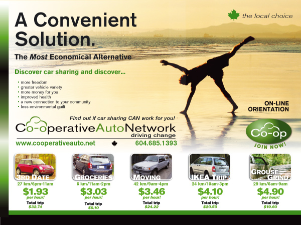 Co-operative Auto Network Poster