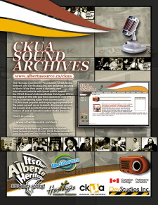 CKUA Sound Archives Ad