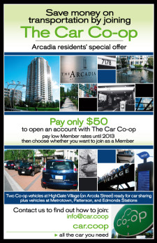 Car Co-op Poster - Arcadia