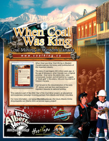 When Coal Was King Ad