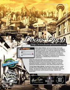 Doors Open Ad