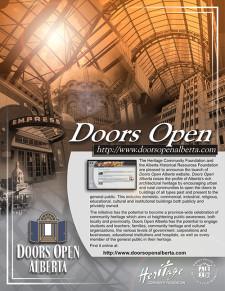 Doors Open Ad - version 2