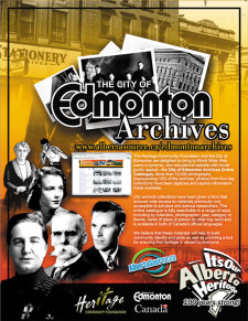 The City of Edmonton Archives Ad